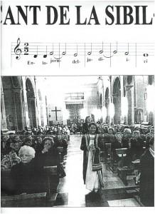 CARTELL DE LA 1º SIBIL·LA -1999-XERACO