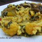 Paella de set verdures -D