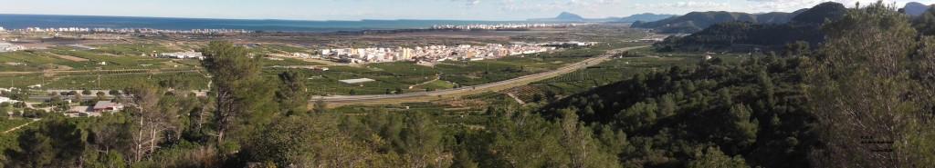 Vista panoràmica de Xeraco